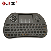 Backlight 2.4G Wireless Mini Keyboard Touchpad Air mouse for PC Android TV Box Portable mini keyboard Backlight white light i86