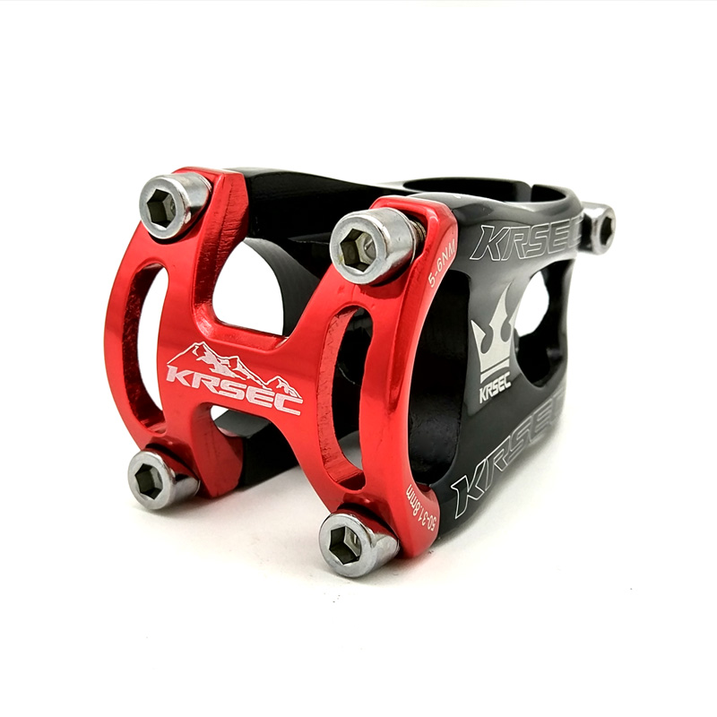 CNC Machined 31.8mm Aluminium Alloy Bicycle Stem High strength Handlebar Stem