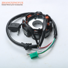 152QMI 157QMJ Magneto Stator Ignition Generator 8 Poles Coils GY6 Motorcycle Scooter Moped 125cc 150cc