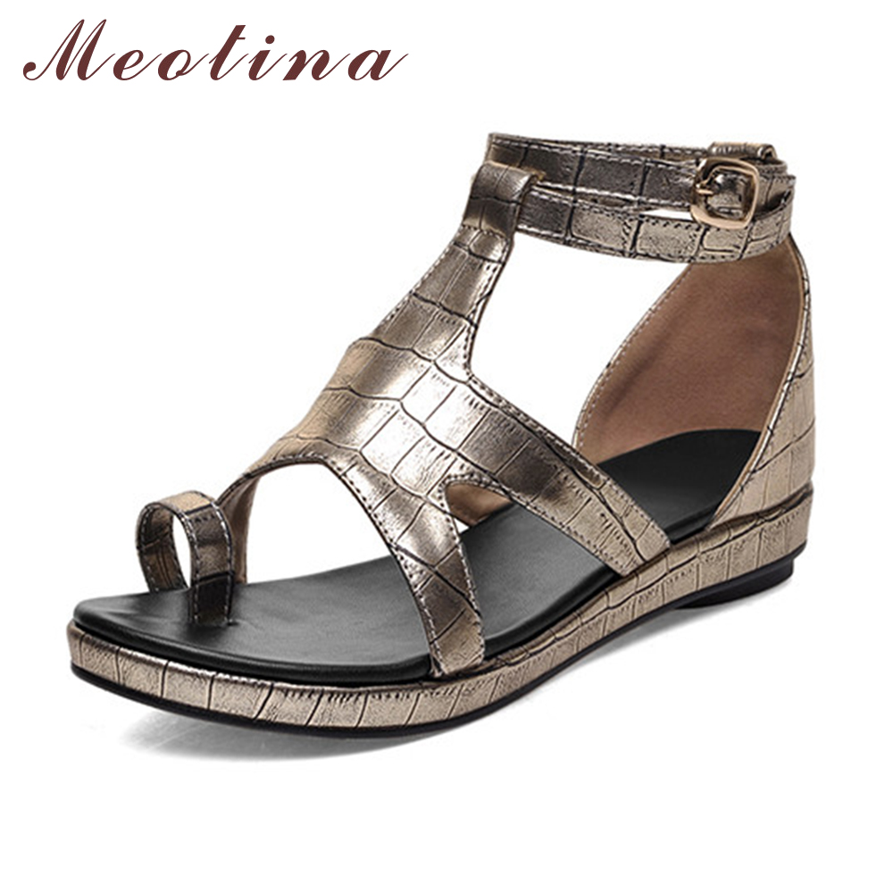 ヾ(^ ^)ノMeotina Rome Ladies Sandals ̿̿̿(•̪ ) Thong Thong ...