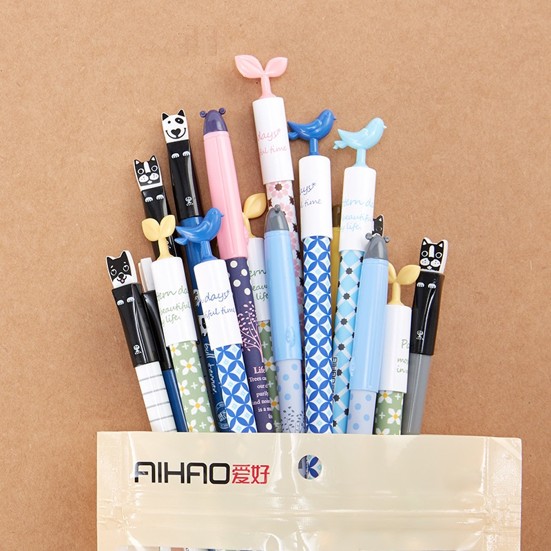 30 pcs cute gel pens value pack 0.35mm 0.5mm roller ball pen Wholesale Stationery Office accessories school supplies F734