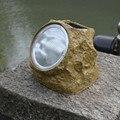 Творческий Водонепроницаемый Имитация камень l led солнечный свет улице газон декоративный сад свет лампы наружного освещения