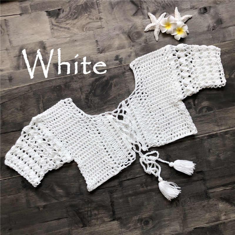 47bd22fe20 ... Women Sexy Crochet Hippie Bralette Knit Bra Boho Beach Bikini Crop Tops  Swimwear Sexy Top Boho ...