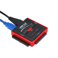 USB 3.0 לsata/IDE מתאם כונן קשיח ממיר עבור יוניברסל 2.5/3.5 HDD/SSD כונן הקשיח דיסק עם אספקת חשמל