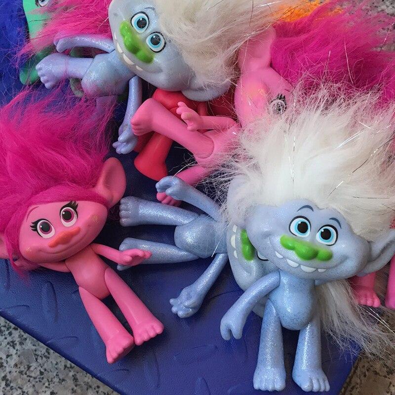D0116 Hot sale New Year children girl birthday gift Magic hair elves 15cm naked doll random type