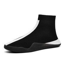 Лидер продаж, брендовая повседневная обувь для мужчин, новая осенняя мужская модная обувь, черные, белые, красные мужские трендовые туфли, мужские носки, новые мужские ботинки