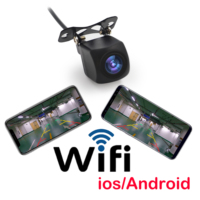 WIFI HD Car Reverse Camera Wireless Car Rear View Camera for IOS and Android Phone With Video Recording Function