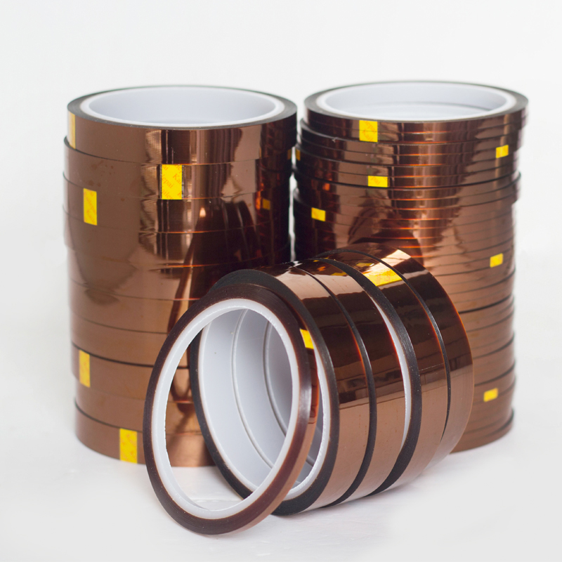 High quality 5mm Heat Resistant Tape High Temperature Polyimide 100ft One side Adhesive Rolls      - AliExpress