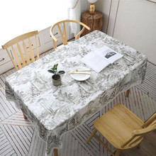 New 3D Tablecloth Printed Polyester Rectangle Modern Design For Home Decoration Square Table Cover Party Can Drop Shipping