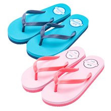 Kocotree/Новое поступление года; детские тапочки; летние тапочки; обувь для мальчиков и девочек; Нескользящие Детские пляжные тапочки с рисунком