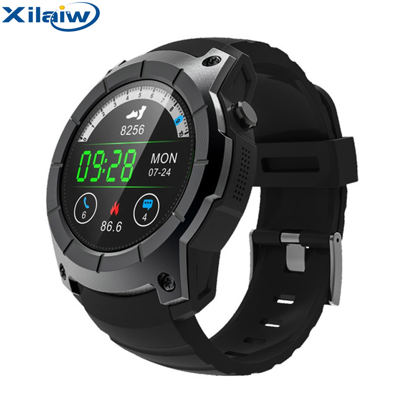XilaiW S958 GPS Sports Pedometer Smartwatch MTK2503 Heart Rate Monitor Multi-sport Model Smart Watch support Sim card s958 gps smart watch multi function sport watch heart rate monitor watch support sim tf card barometer activity track music play