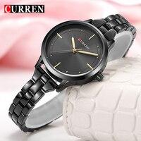 CURREN Brand Luxury Woman Casual Wristwatch Ladies Classic Quartz Watch Female Fashion Romantic Watch Relogio Feminino