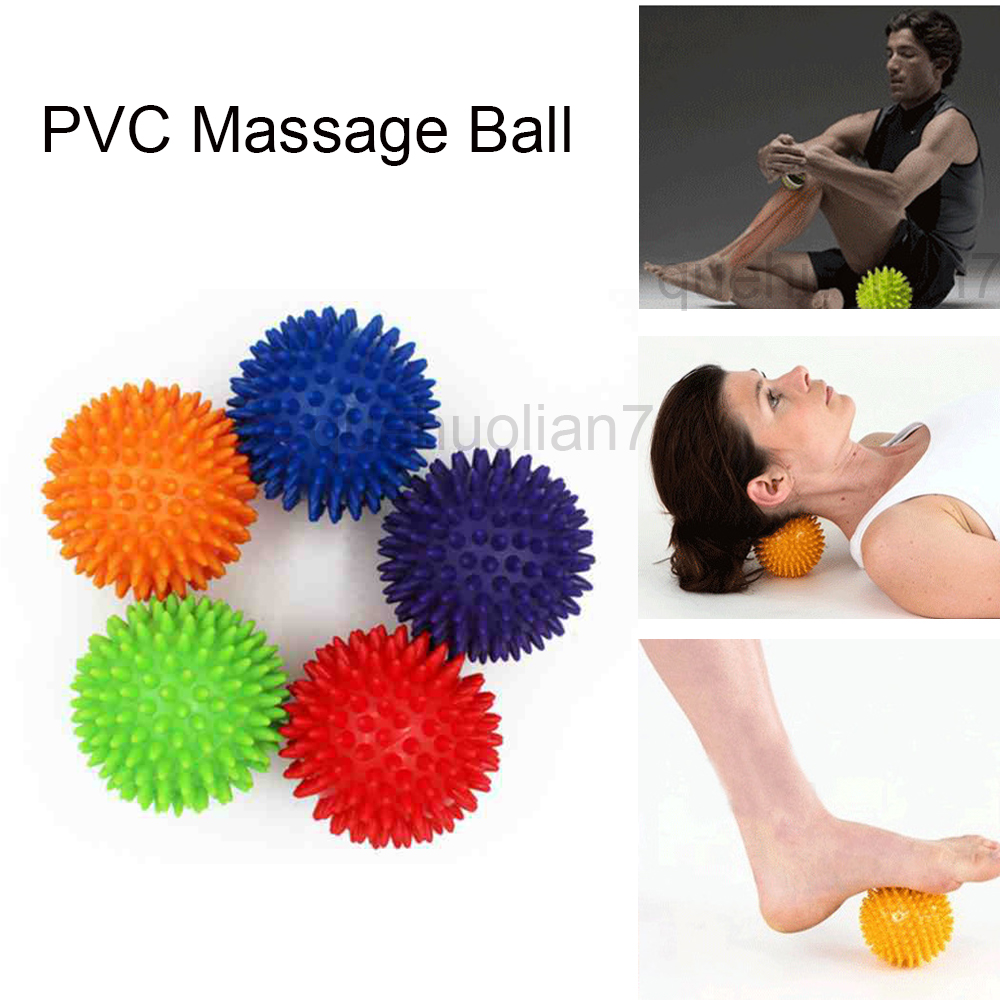 SPEQUIX 2 PCS Multifunction Spiky VPC Yoga Therapy Fitness Pain Trigger Point Massage Ball Studio Stress Relax Tools Promotion