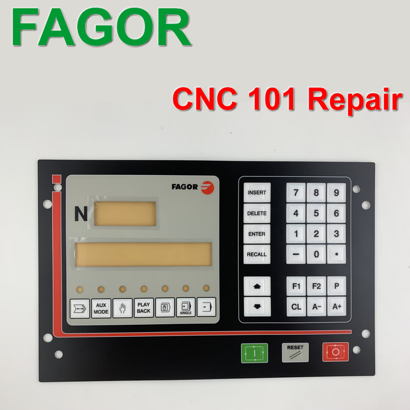 CNC101 FAGOR button panel key film the operator panel CNC button repair do it yourself New