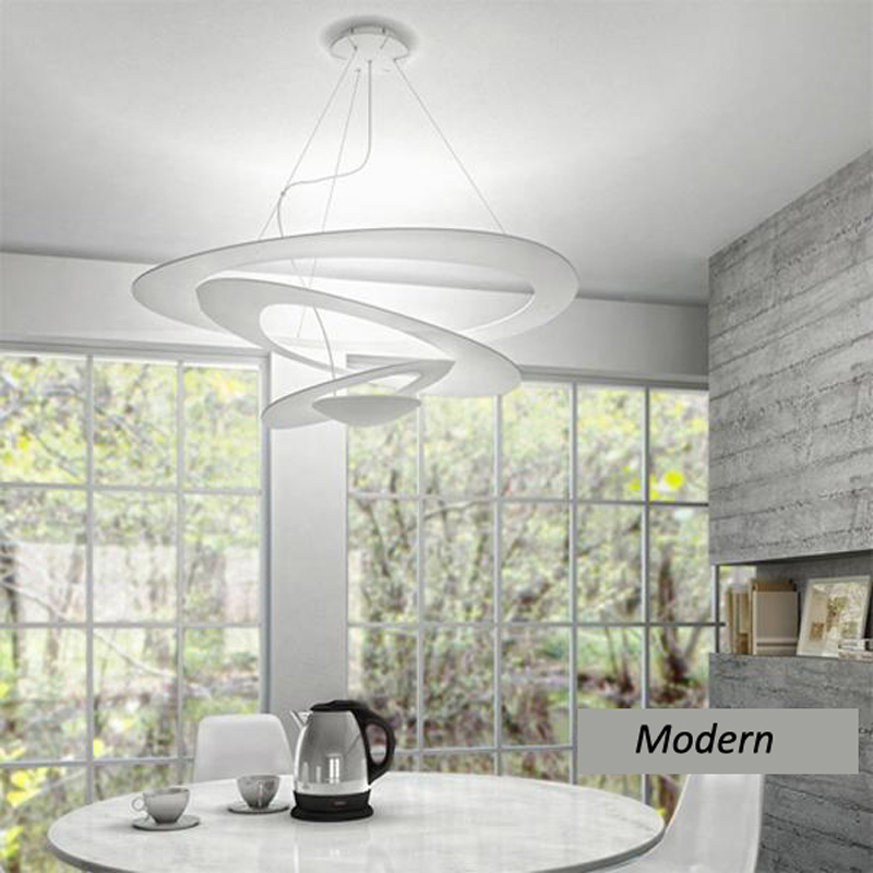 ZX Nordic Simple Restaurant Iron Pendant Lamp Individual Creative LED Lighting Fashion Living Room Foyer Office House Chandelier