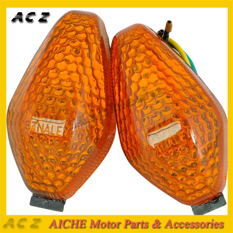 ACZ Motorcycle 1 Pair Turn Signal Lights Shift Light Blinker Indicator Flashers For Honda CBR250 MC19 CBR400 NC23