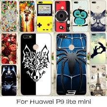 TAOYUNXI Soft Case For Huawei Nova Lite 2017 Case Silicon Anti-knock P9 lite mini Enjoy 7 Y6 Pro 2017 Cover DIY Painted