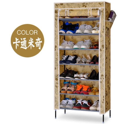 House Scenery Simple Furniture Thickened Nonwoven Shoe Racks Creative Shoe  Shelf Multi layer Combination Storage Shoes Cabinet-in Shoe Cabinets from  ...