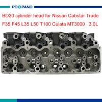 Motor parçası BD30 motor silindir kafası 909 018 Nissan Cabstar Ticaret F35 F45 L35 L50 T100 Culata MT3000 3.0L 11039-69T03