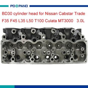 Pieza de motor BD30, Culata de cilindro de motor 909 018 para Nissan Cabstar Trade F35 F45 L35 L50 T100 Culata MT3000 3.0L 11039-69T03