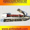 Большой размер самолет buclke 38 мм ширина Оригинальный самолет ремень безопасности пряжки ремня авиакомпании мода пояса мужчины пояса джинсов бесплатная доставка