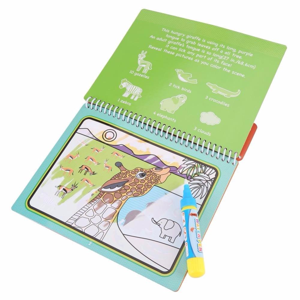 2018 Hot Sale Copii portabile Desen de carte Magic de colorat Pictura - Învățare și educație