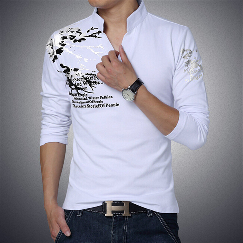 Aliexpress.com : Buy Fashion Casual Male T Shirts New Men Trend ...