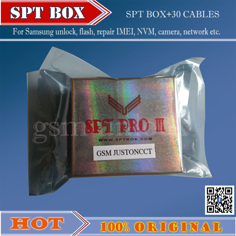 Gsmjustoncct SPT BOX Strumento Professionale per Samsung N7100, I9300, I9500 S5 Sbloccare, Flash, riparazione IMEI, camera, telecamera di Rete, trasporto LIBERO