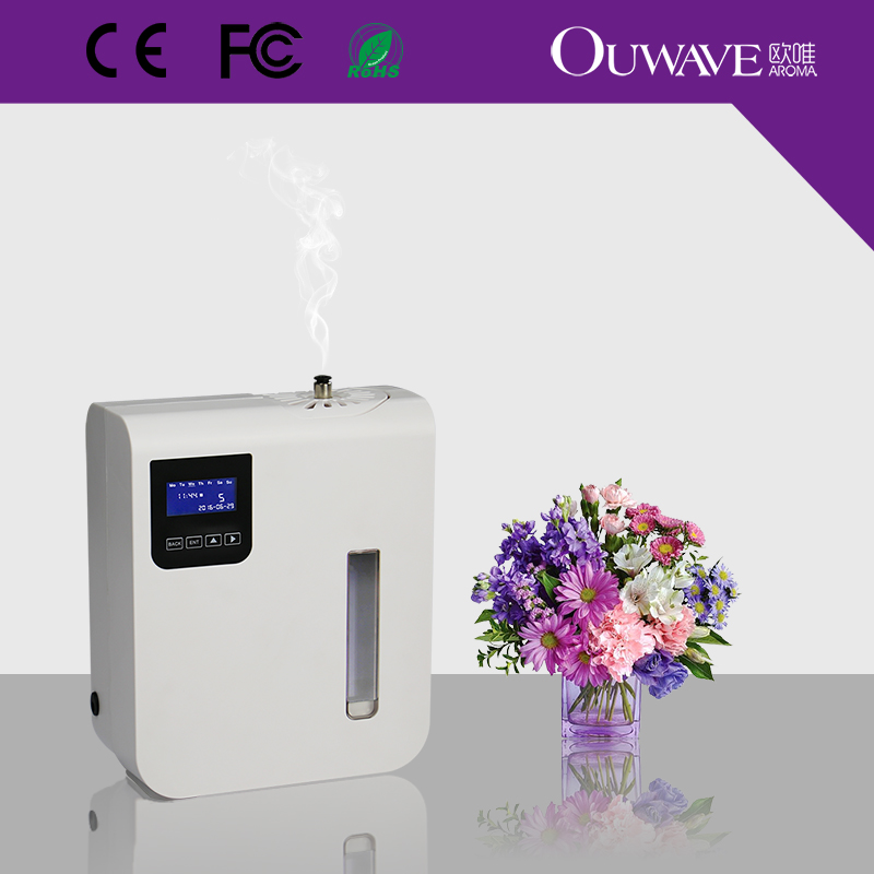 electric aroma oil diffuser electric scent diffuser timing system air freshener for small area - Scent Diffuser