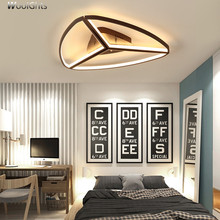 Wooights Modern led Ceiling Lights For Living Room Master AC85-265V Led Lamp luminaire plafonnier Lampara de techo