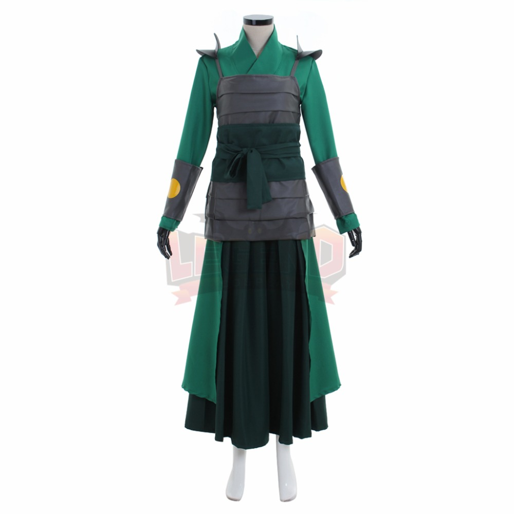 Avatar The Last Airbender Kyoshi Warriorsm Cosplay Costume Halloween Costume