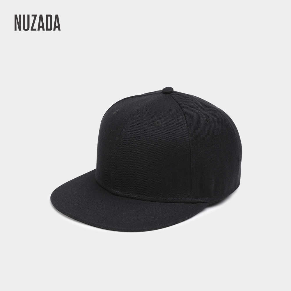 f03bf8e00 Brand NUZADA Polyester Cotton Men Women Neutral Couple Hip Hop Cap Spring  Summer Autumn Simple Classic 7 Colors Caps