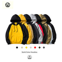 Plus Velvet Europe Size Mens Sweatshirt Chandal Hombre Hoodies Men Casual Hip Hop High Streetwear Fleece Hoody Man Clothing 2019(China)