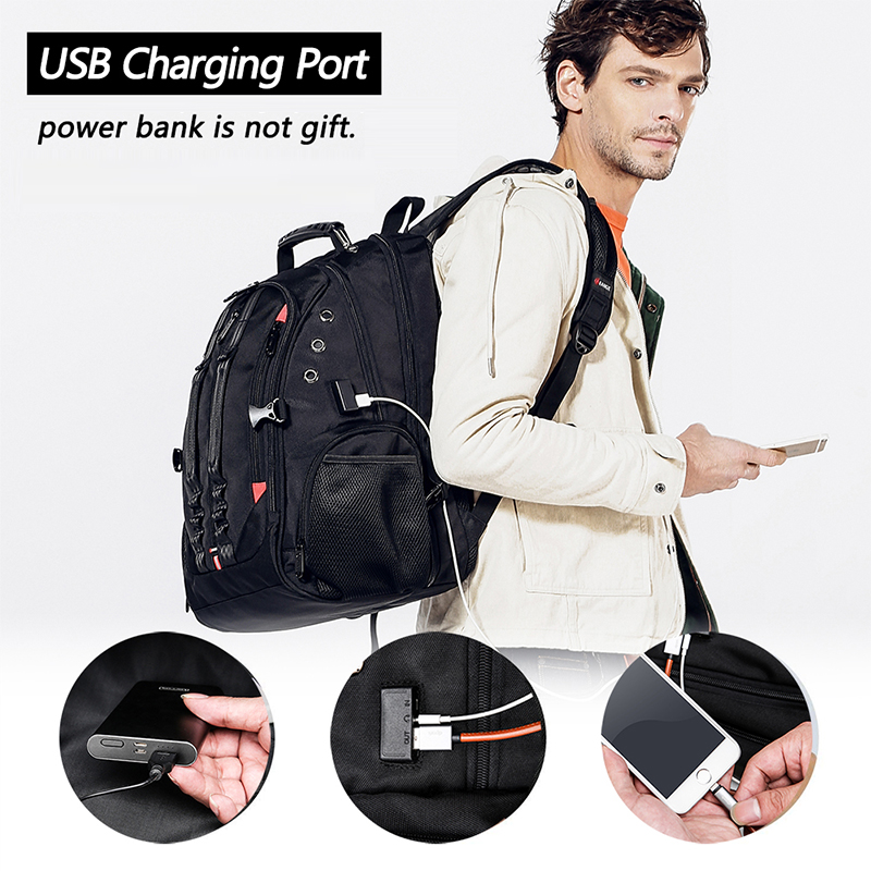 15.6 Anti-Theft Laptop Backpack  - Durable 45L S Strap Design 3