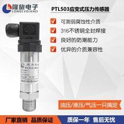 PTL503 Strain Gauge Pressure Transmitter Constant Pressure Water Supply Pressure Sensor Pipeline Hydraulic Pressure Transmitter