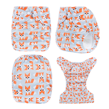Free Shipping 1pcs Printed Reusable Cloth Diapers Nappies Babies Washable Diapers