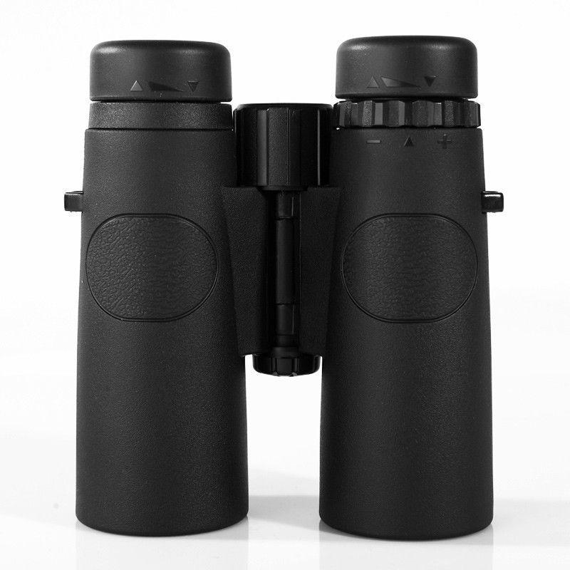 10x42 Camping caza ámbitos Asika binoculares con correa para el cuello bolsa de visión nocturna telescopio Bak4 prisma óptica Binocular - 3