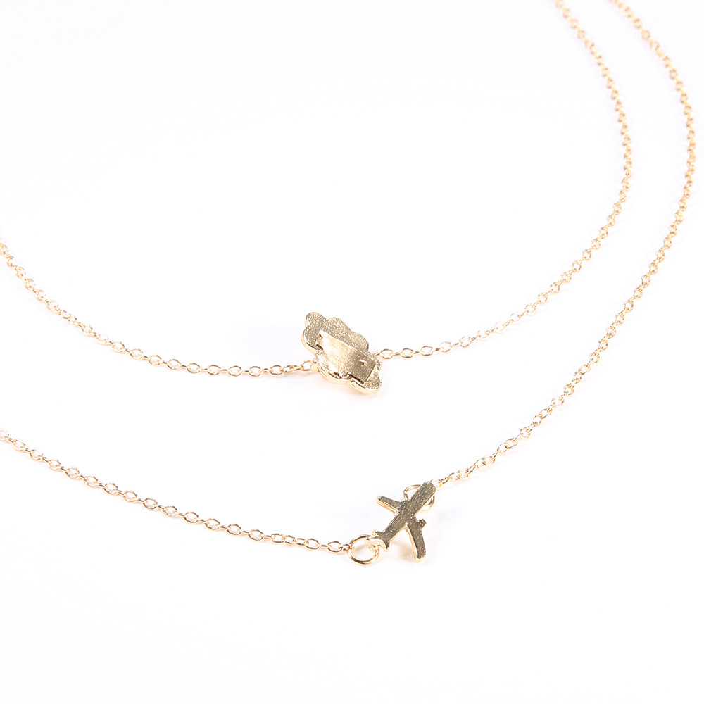 Airplane Travel Necklace 3