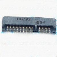 מיני PCIE MINIPCIE Msata חריץ מחבר שקע 52 P מחבר כרטיס מקורי