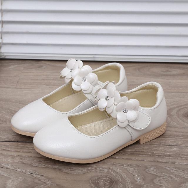 Online shop childrens flower girl shoes 2017 new baby kids girls image mightylinksfo