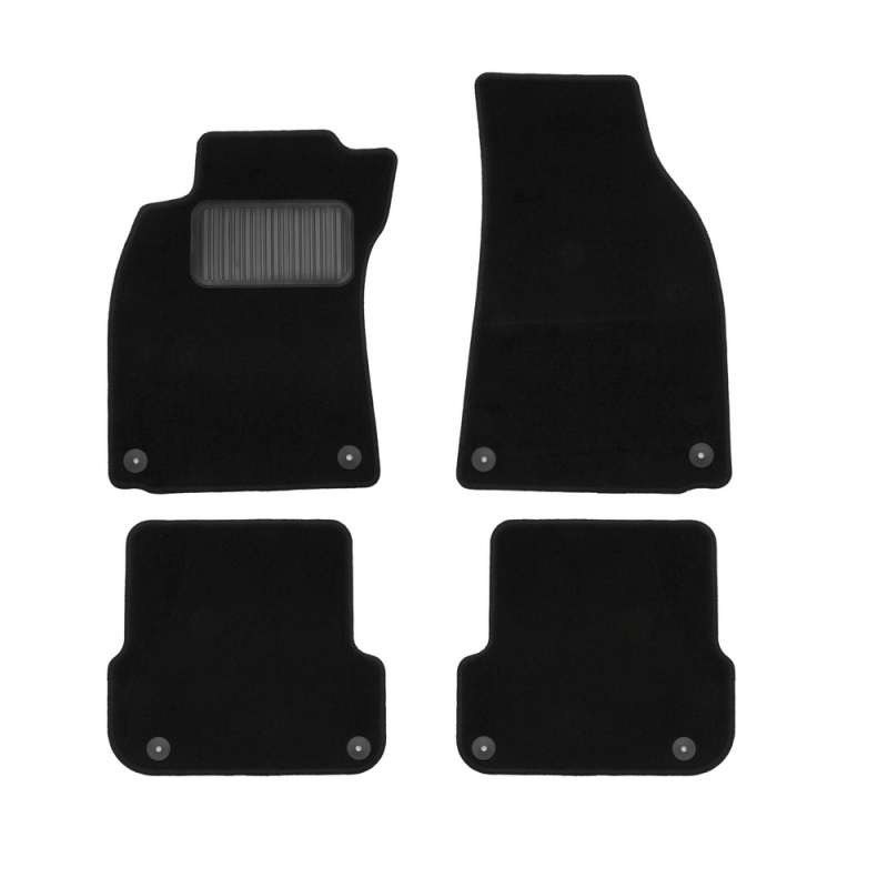 Carpet mats interior For RENAULT Duster 4WD 2011-2015, 4 PCs (polyurethane)