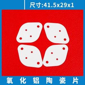 Image 5 - 10 Pcs Hoge Temperatuur Om 3 Slip Igbt Van Aluminiumoxide Keramische Sheet Thermische Geleidende Isolator/Goud Verzegelde Pijp