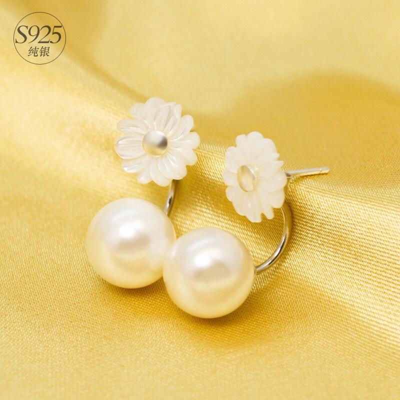 Perla Colores Joyeria De Moda 925 Silver Cristal Austriaco Mujer