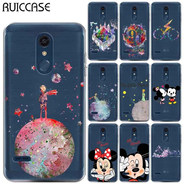 buy popular 087cf a6b07 US $1.59 15% OFF|RUICCASE Harry Potter Little Prince Soft TPU Case For  Coque LG Aristo 2 Aristo2 Cute Mickey Minnie Silicon Phone Back Cover-in  Fitted ...