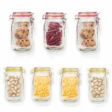 אקראי צבע לשימוש חוזר חותם חבילת הגנת רעננות מעשי מזון טרי שקית ואקום אוטם פירות בשר חלב אחסון תיק חדש