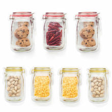 Random Color Reusable Seal Freshness Protection Package Practical Food Fresh Bag Vacuum Sealer Fruit Meat Milk Storage Bag New