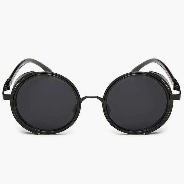 56bbc040096d9 placeholder 2016 novo HOMEM DE FERRO 3 TONY STARK óculos de Sol Homens  steampunk espelhado Óculos punk