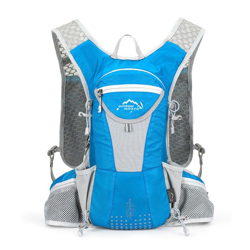 Hot Waterproof Men Women Running Backpack Outdoor Sports Trail Racing Hiking Marathon Fitness Hydration Vest Pack