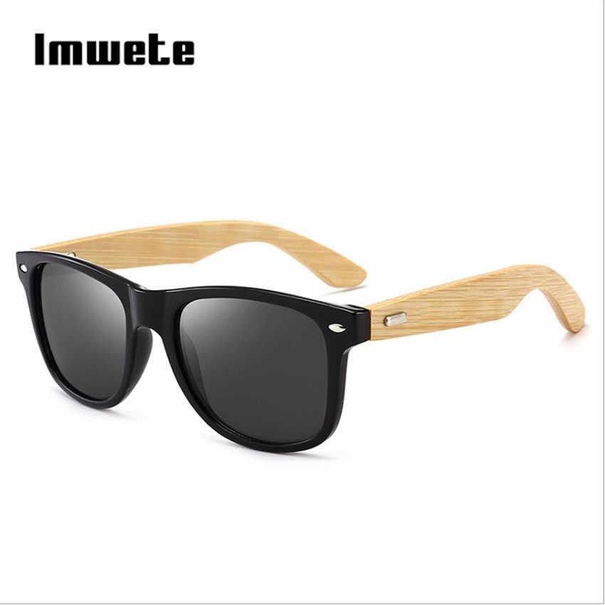 4c04e7c12d0 Retro Wood Sunglasses Men Women Vintage Bamboo Sunglass Brand Design Sport  Goggles Blue Gold Mirror Wooden