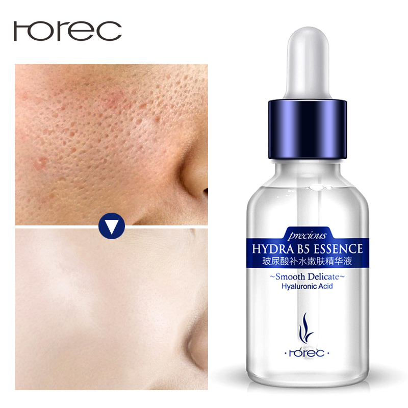 ROREC Hyaluronic Acid Face Serum Facial Anti-Aging Anti-Wrinkle Anti-Acne Liquid Essence Moisturizing Serum Whitening for Face никищихина е худож большая книга раскрасок для самых маленьких